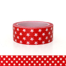 20pcs/set Spot Red Pentagon Children DIY Decorative Sticker Handbook and Paper Tape Star Washi