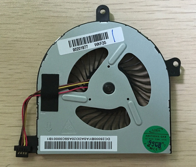 New Laptop CPU Cooling Fan For Lenovo IdeaPad U510 Series cpu fan P/N AB0705HX-QKB (VITU5) Free shipping
