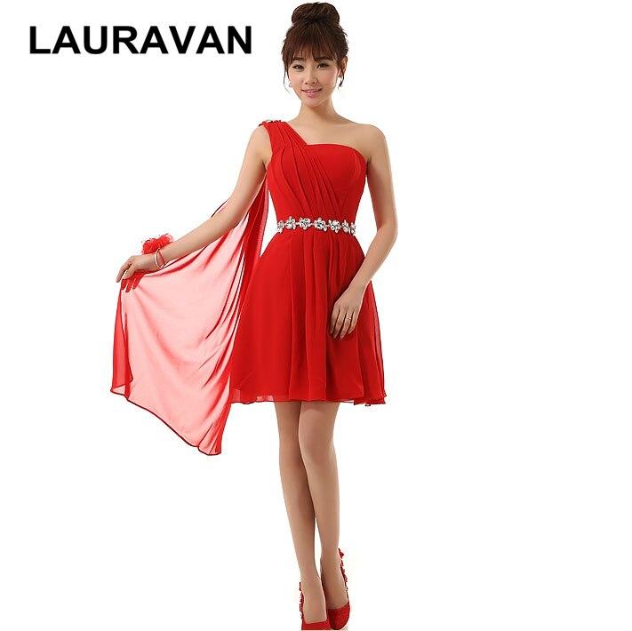 womens bridal red short formal cheap bridesmaid dresses plus size ...