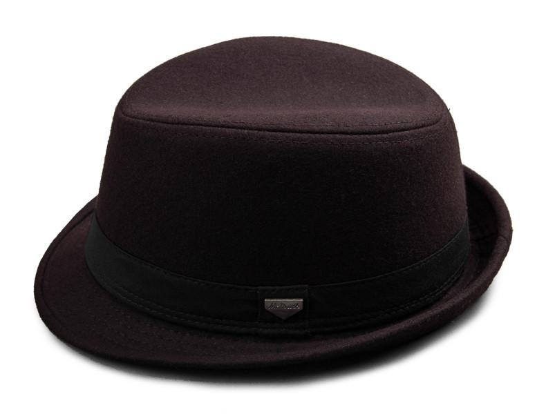 vintage fedora hat black fedora hats for men wool felt hat mens hats fedoras mens fedora hats winter vintage hat jazz hat (12)