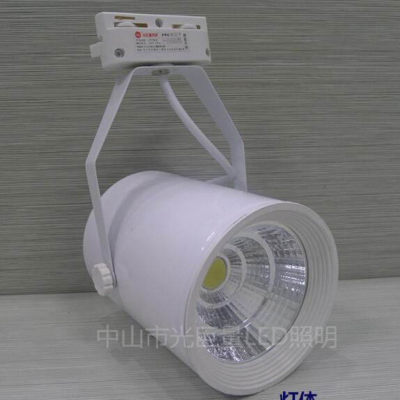 Dhl FreeShipping 12 w integração cob LED pista para loja / shopping iluminação lâmpada opcional branco quente / branco puro