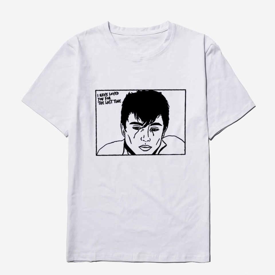 Call Meโดยของคุณชื่อTเสื้อเสื้อฤดูร้อนCasualแฟชั่นStreetwear Harajukuสไตล์ใหม่ยุโรปฝ้ายTEEเสื้อผู้ชาย