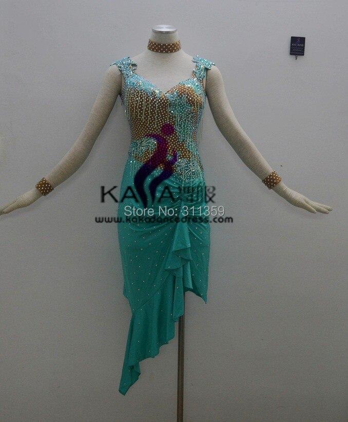 Hot Sales!KAKA-L140243,Women Dance Wear,Girls Fringe Latin Dress,Salsa Dress Tango Samba Rumba Chacha Dress,Latin Dance