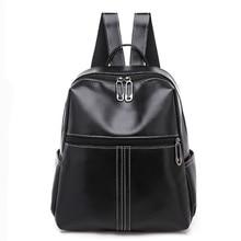 купить Women Leather Backpack Anti-Theft Casual School Backpacks For Teenager Girls Travel Large Capacity Multifunction Backpack по цене 1979.22 рублей