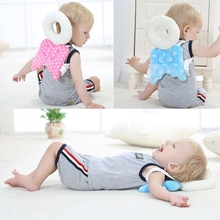 Baby Head protection pad Toddler headrest Safety pillow baby guard neck Cute wings nursing drop resistance cushion