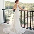 Robe De Mariage Vintage Lace Mermaid Wedding Dresses 2016 Hot Sale Plunging V Neck Sexy Backless Bridal Gowns Vestidos De Novia