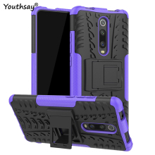 For Xiaomi Mi 9T Case Hard Heavy Duty Rubber Silicone Phone Redmi K20 for case