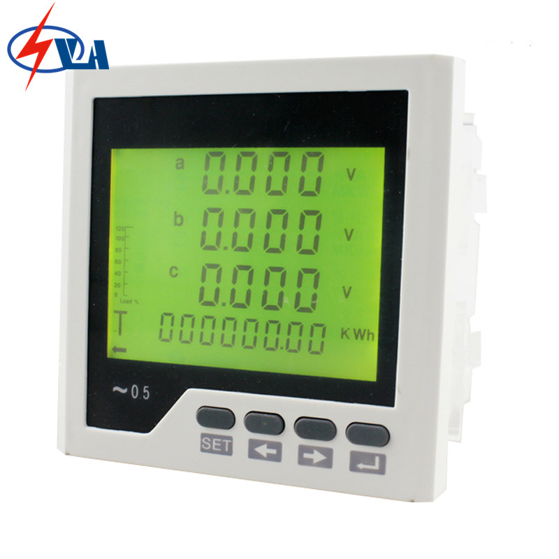 3D3Y frame size 96*96mm three phase AC Data Retention LCD Digital display multi-meter 3uif23 frame size 120 120mm 3 phase ac led digital combined meter for distribution box