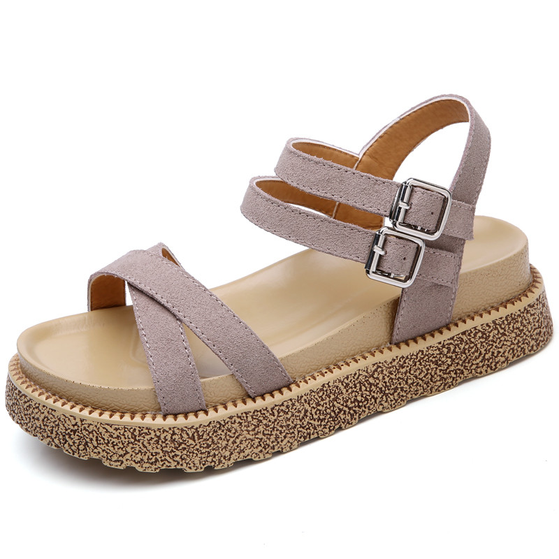 Summer Sandals Casual Shoes Women High Help Footwear Open Toe Platform Gladiator Leisure Comfortable Patch  Sandalias Zapatos phyanic 2017 gladiator sandals gold silver shoes woman summer platform wedges glitters creepers casual women shoes phy3323