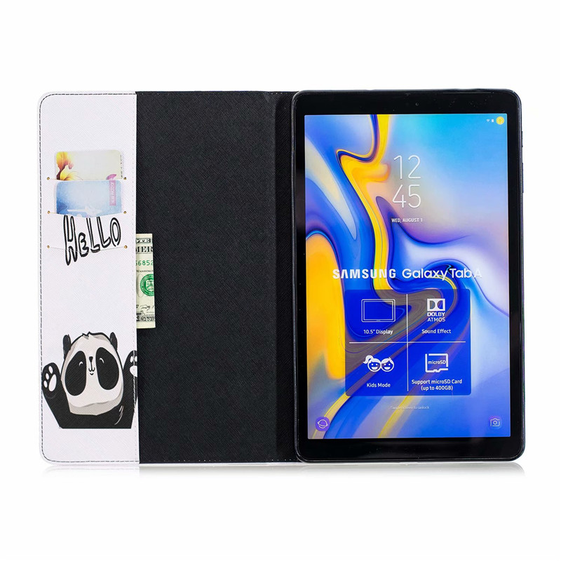 Case For Samsung Galaxy Tab A A2 10.5 Inch 2018 T590 T595 SM-T590 SM-T595 Magnetic Leather Awake Smart Sleep Cover Coque Funda