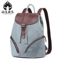 Brand Women Backpack Genuine Leather School Backpacks For Teenage Girls Shoulder Bag Large Capacity Travel Bags
