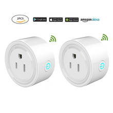 цена 2018 New Convenient  WIFI Smart Plug US Plug Smart Timing Socket Wireless Outlet control function plug for Smart Home Automation