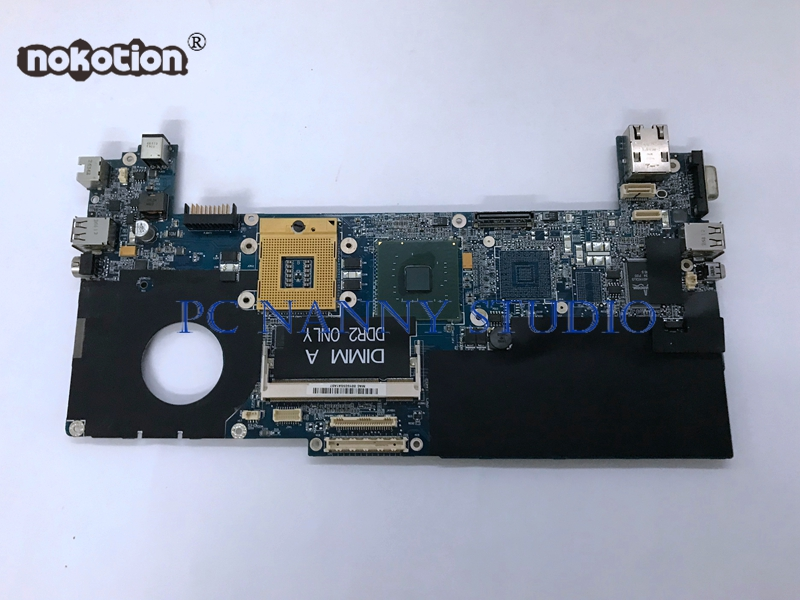 NOKOTION for Dell XPS M1210 Laptop mainboard Motherboard s478 0GU059 GU059 HAL30 LA 3001P 945GM Free