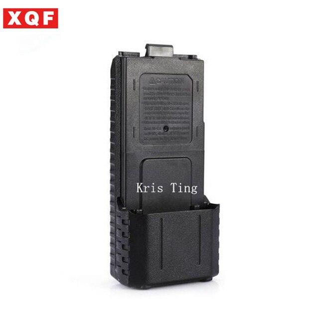 XQF новый черный 3800 мАч аккумулятор АА случае Baofeng UV-5R Handheld двухстороннее Радио с бесплатной доставкой;