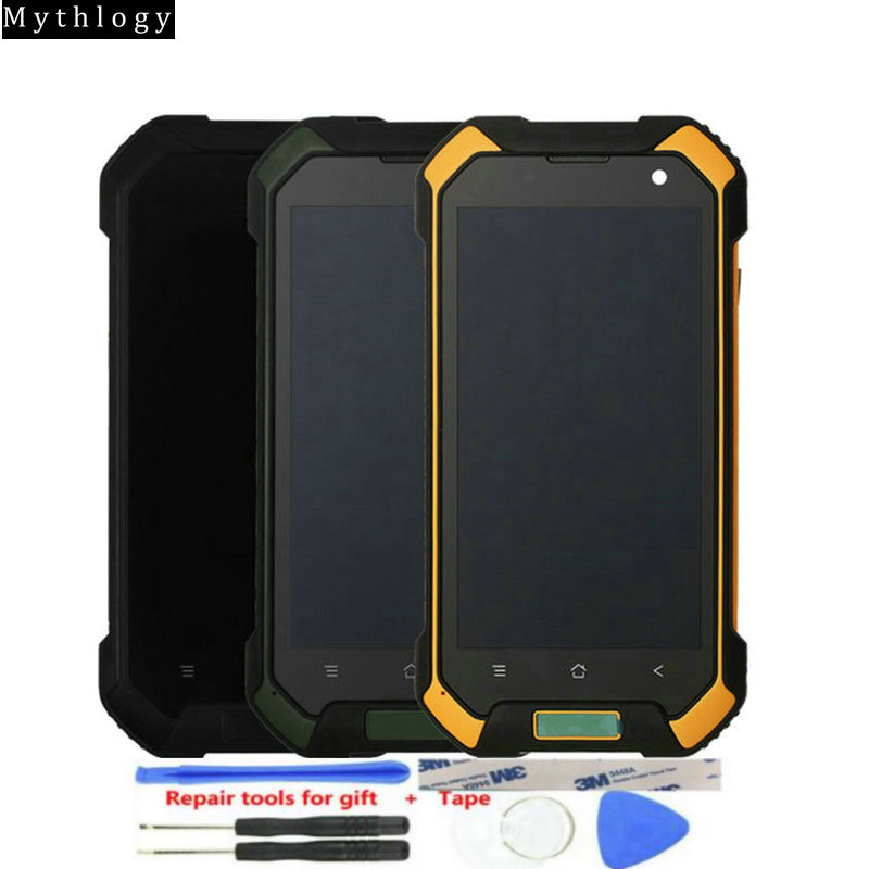 "For Blackview BV6000 Touch Screen Display BV6000s Replacment Digitizer 4.7""Mobile phone Panels LCDs with Frame Mythology(China)"