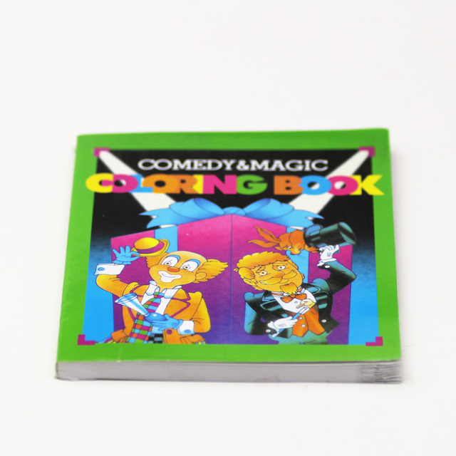 2pcs Comedy Magic Color Book mini style funny gadgets magic tricks ...