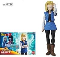 WSTXBD Original Dragon Ball Z DBZ Figure Rise Android No.18 PVC Figure Brinquedos Dolls Toys Figurals