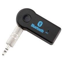 סטריאו 3.5 Blutooth אלחוטי לרכב מוסיקה אודיו Bluetooth מקלט מתאם Aux 3.5mm A2dp עבור אוזניות מקלט שקע דיבורית