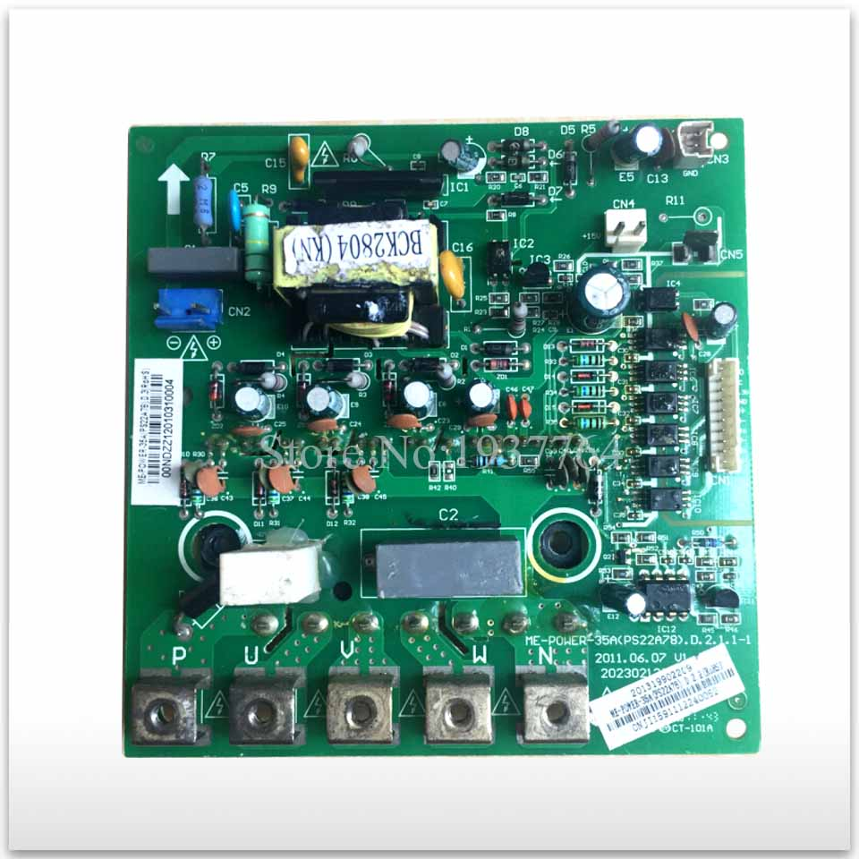 95% new used for Air conditioning Frequency conversion module ME-POWER-35A (PS22A78)D.2.1.1 good working 95% new used good working for air conditioning elce kfr80w bp2t4n1 310 d 13 mp2 1 v1 2 conditioned power module board