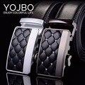 Cinturones de Diseñador para hombre de Lujo de Los Hombres Correa de Cuero de 2017 Piel de Vaca Cuero Genuino de la Manera Correa de La Cintura Masculina de Alta Calidad de Metal Hebilla de cinturón