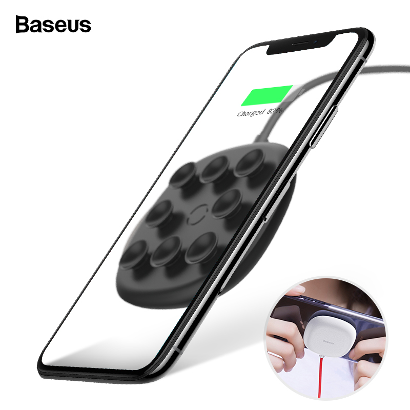 Baseus Wireless-Charger Charging-Pad iPhone Xs 8-Plus Samsung Qi 10W for Max-Xr 8-plus/10w/Fast-wirless/Wireless