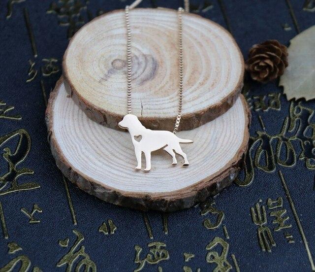 Фото ожерелье с лабрадором ретривером металлическая подвеска в виде цена
