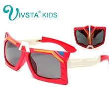 IVSTA  transformer Silicone kids eyeglasses frame boys cool