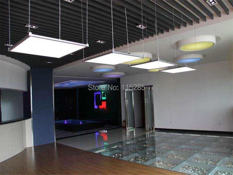 6pcs lot suspended ceiling led panel light 48w 3014smd 600. Black Bedroom Furniture Sets. Home Design Ideas