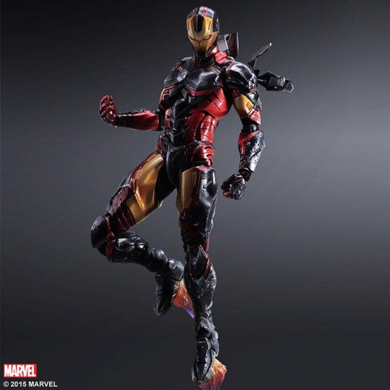 New Marvel Avengers Iron Man Tony pvc ornaments hand model model action model childrens giftsNew Marvel Avengers Iron Man Tony pvc ornaments hand model model action model childrens gifts