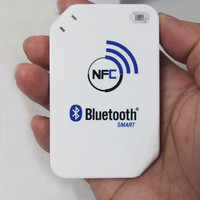 13.56mhz ACR1255 J1 NFC Bluetooth Wireless Contactless RFID Reader Writer Support ISO14443 S50 Chip, NFC Card