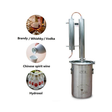 Limbeck, Stainless Steel Distiller, Wine Brewing Device, Spirits Alcohol Distillation Boiler 25l large capacity stainless steel wine brewing machine distillation wine equipment alcohol vodka liquor distiller pot boilers