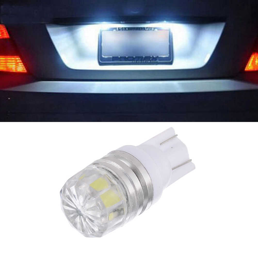 1PC T10 LED W5W 3W Interior White LED Indoor Instrument Panel Side Light Reading Light White Light