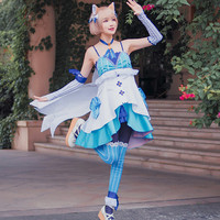 Re:Life in a different world from zero Cos Felix Argyle Anime Cosplay Costume Catwoman Female Halloween Lolita Dress
