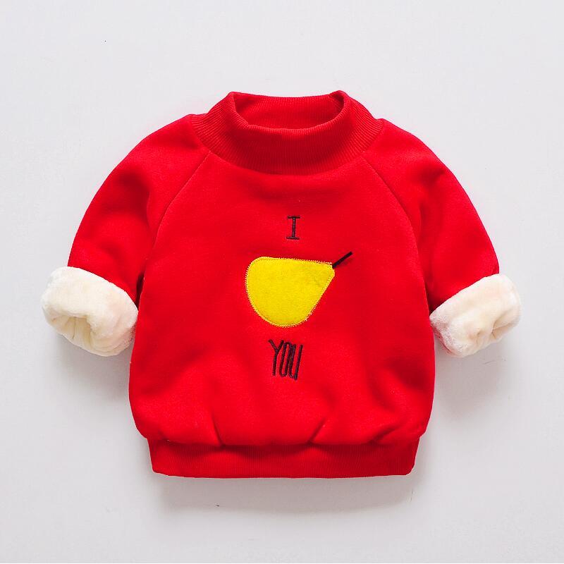 BibiCola children girls boys sweatshirt Striped hoodie for baby boy autumn winter sweater kids cotton t-shirt toddler girls tops