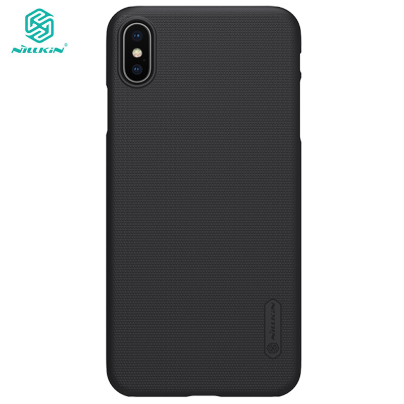 Super Frosted Shield X XS For iPhone XS Max Case Nillkin PC Hard Back Cover Case for iPhone XR Case 6.5/6.1/5.8 inch +gift