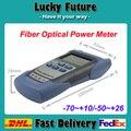 Envío rápido De Mano De Fibra Óptica Medidor de Potencia Para FTTx Prueba Óptica Fusionadora