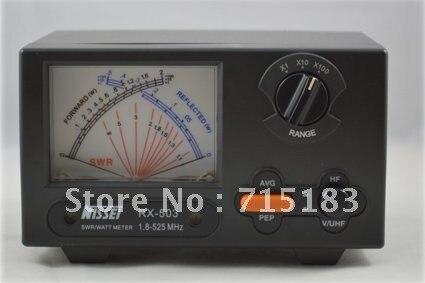 imágenes para Nuevo taiwán originales NISSEI RX-503 SWR / Watt Meter 1.8 - 525 MHz 2 / 20 / 200 W para Radio de dos vías del metro del vatio para walkie talkie