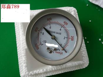 Axial Band-side membrane box pressure gauge new YE-60Z 10KPA-0 Rear mounting specifications complete