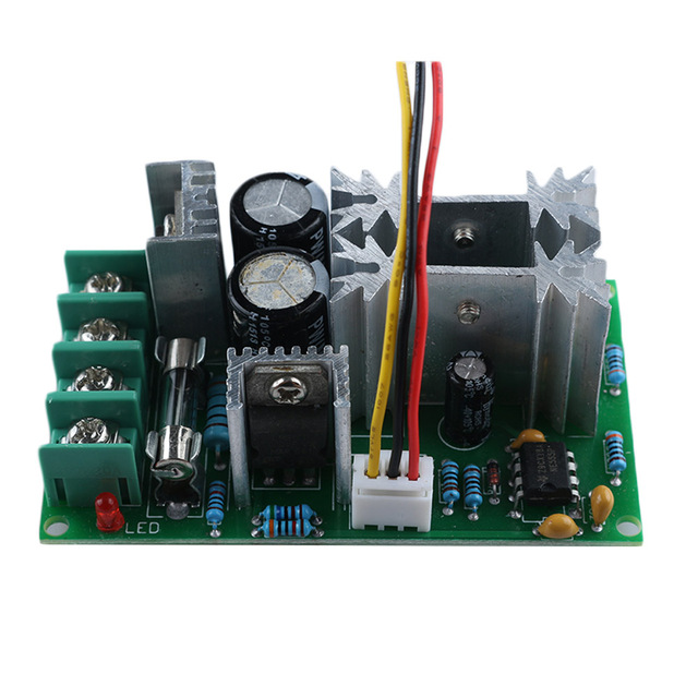 1PC Variable Adjustable Durable Universal DC10-60V PWM HHO RC Motor Speed Regulator Controller Potentiometer Switch 20A