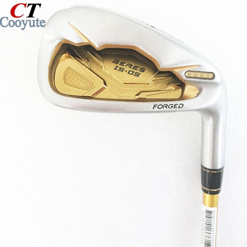Nouveau hommes Cooyute Golf Clubs HONMA S-05 4 étoiles De Golf fers ensemble 4-11.Aw.Sw Clubs fers De Golf Graphite arbre R Flex Livraison gratuite