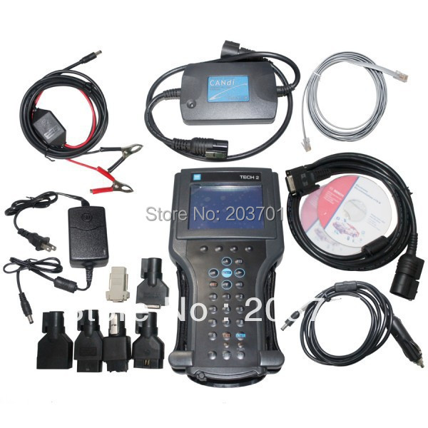 G-m tech2 support 6 software Full set diagnostic tool Vetronix g-m tech 2 with candi interface