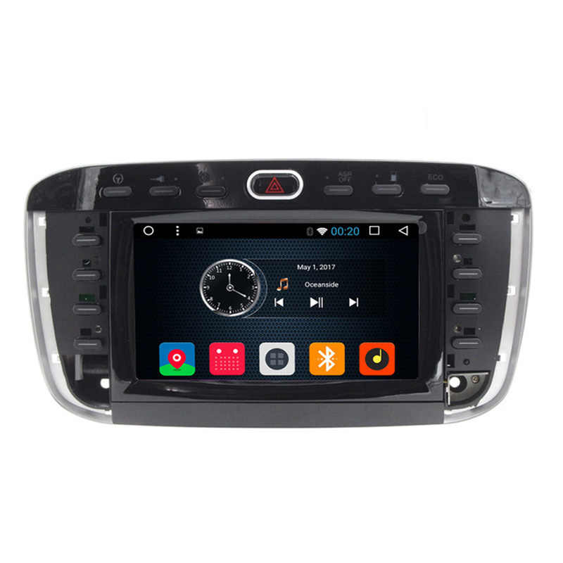 "Android 6.0 6.2 ""Layar sentuh Mobil DVD Player GPS Navigasi Untuk Fiat punto evo Linea 2012 2013 Radio RDS AM FM USB SD Ipod"