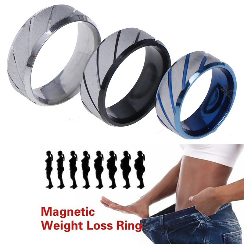 7 Size Magnetic Weight Lose Ring Slimming Products Medical Anti Cellulite Fitness Reduce Weight Ring Magnetic Health Jewelry