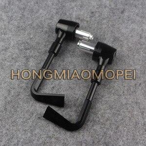 Image 5 - CNC alüminyum motosiklet el koruma koruma sistemi fren debriyaj kolları koruyucu düşen koruma Honda Suzuki KTM