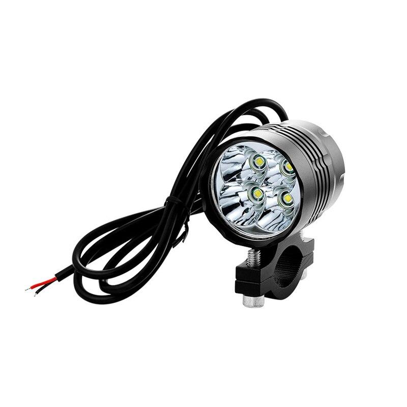 Велосипедный фонарь, велосипедные фары, светодиодные фары, алюминиевые водонепроницаемые Аксессуары для велосипеда, 4 T6 LED 10-85 в, источник пи...