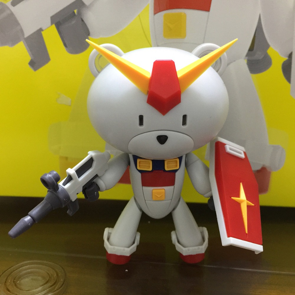 MK Motor King Model HG 1/144 Petit BEARGGUY RX-78 Gundam with Led DJ023MK Motor King Model HG 1/144 Petit BEARGGUY RX-78 Gundam with Led DJ023