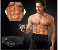 Best Smart slimming massage belt EMS Muscle stimulator Unisex Abs Abdominal Muscle Toner Core Abs Workout Belt ,15pcs