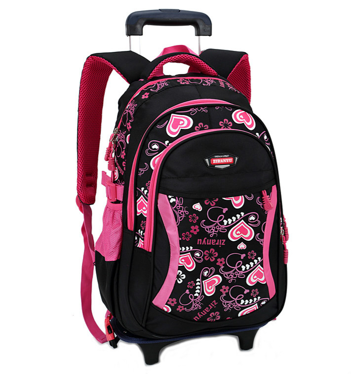 Children School Bags Grils Trolley Backpack Wheels Bag Student Detachable Rolling Backpacks schoolbags Women travel bag Mochila children trolley backpack school bags boys grils wheeled bag student detachable kids school rolling backpacks travel bag mochila