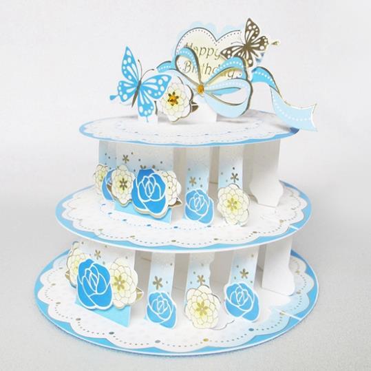 aliexpress com buy rose butterfly birthday cake handmade on birthday cake ki photos