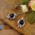 Ювелирные изделия подарки женщины народном стиле серебро богема капли круг серьги